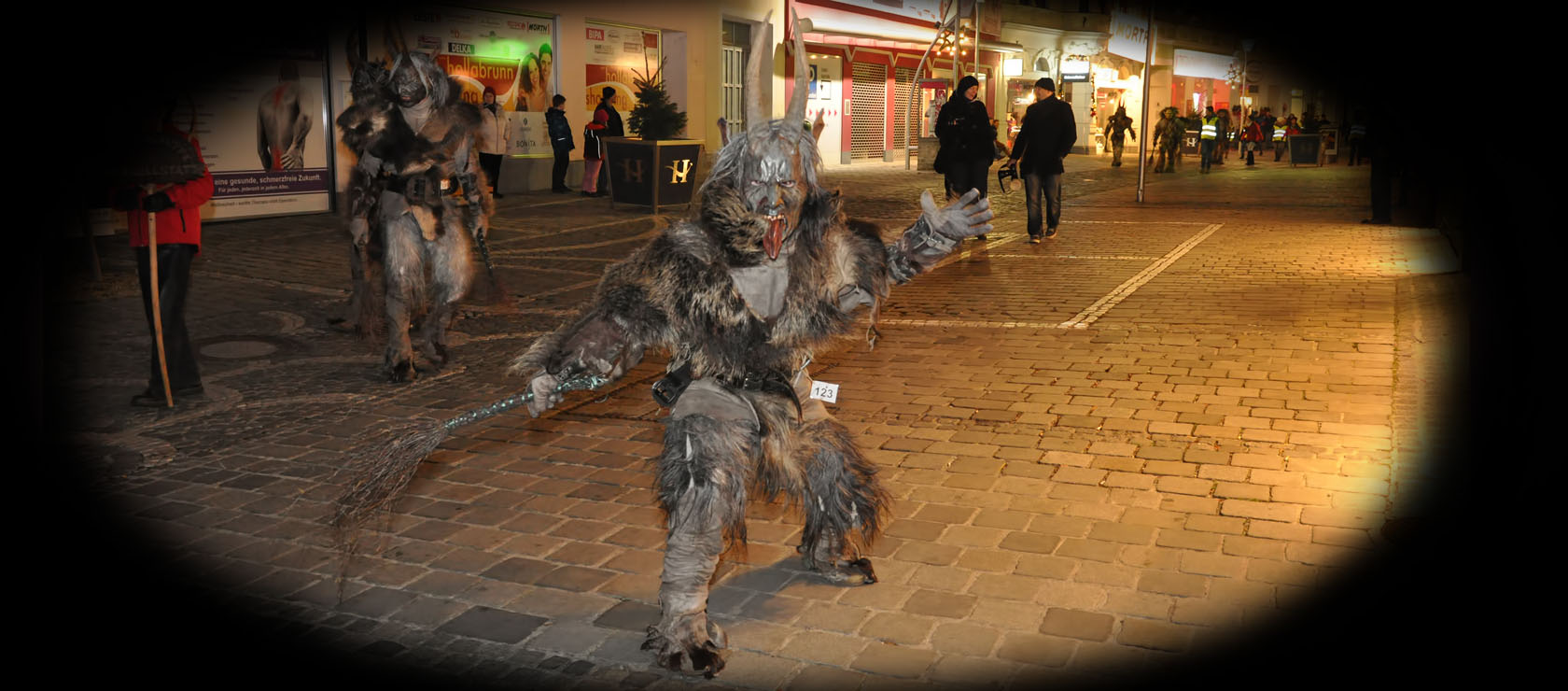 Krampuslauf in Hollabrunn 2013