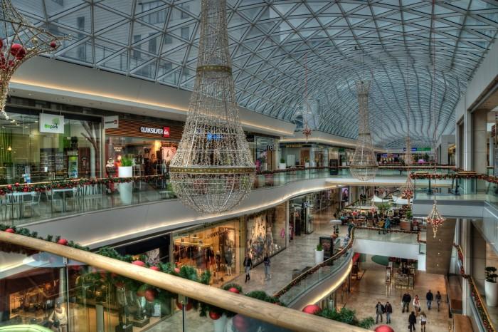 Einkaufszentrum Impression