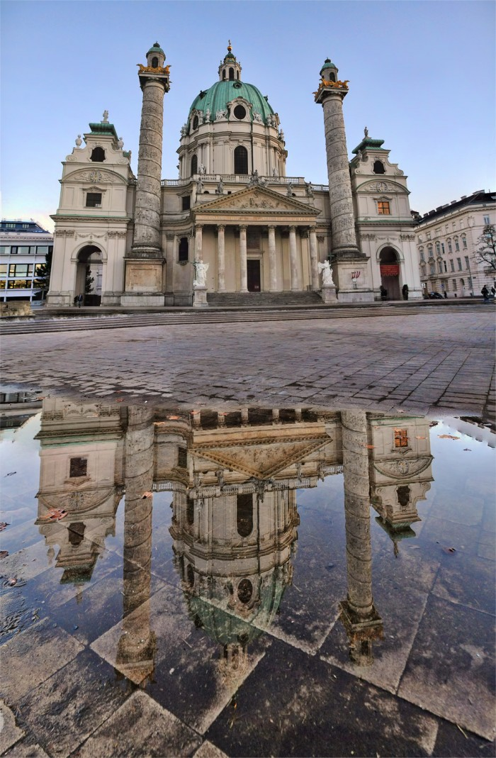 Karlskirche-spiegelung