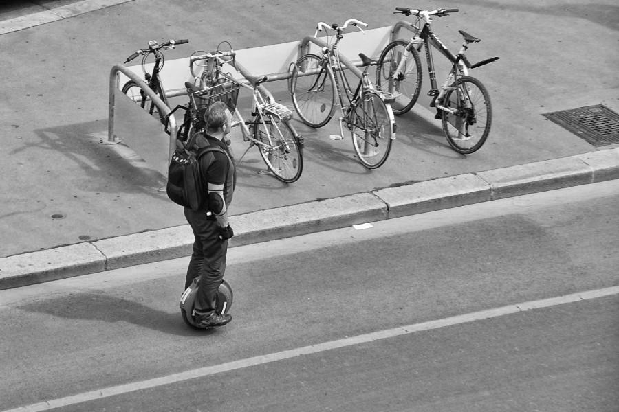 moderner Straßenverkehr